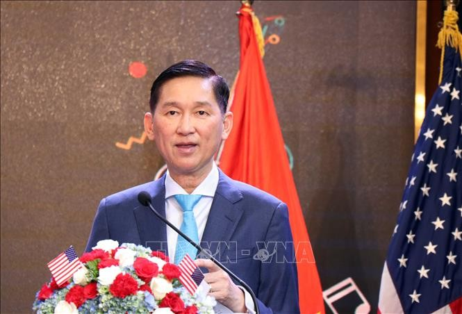 Lễ Kỷ niệm 243 năm Quốc khánh Hoa Kỳ tại Thành phố Hồ Chí Minh - ảnh 1
