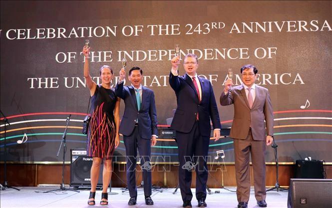 Lễ Kỷ niệm 243 năm Quốc khánh Hoa Kỳ tại Thành phố Hồ Chí Minh - ảnh 3