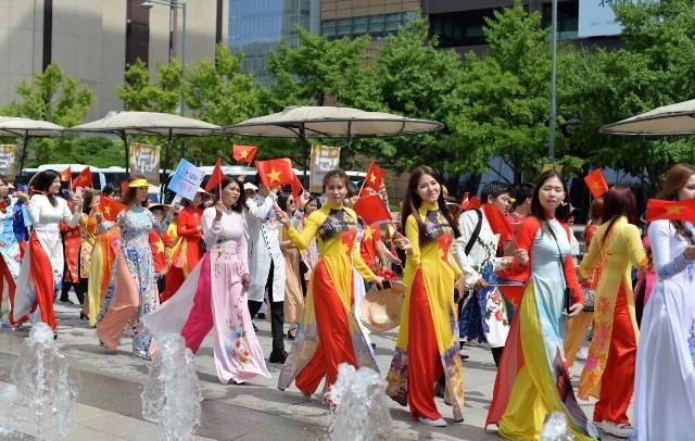Lễ hội văn hóa Việt Nam lần thứ 9 tại Hàn Quốc - ảnh 5