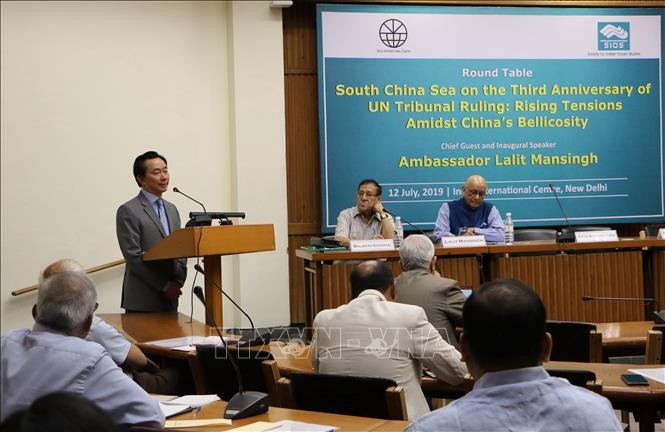 Hội thảo tại Ấn Độ nhân dịp 3 năm PCA ra phán quyết về Biển Đông - ảnh 1