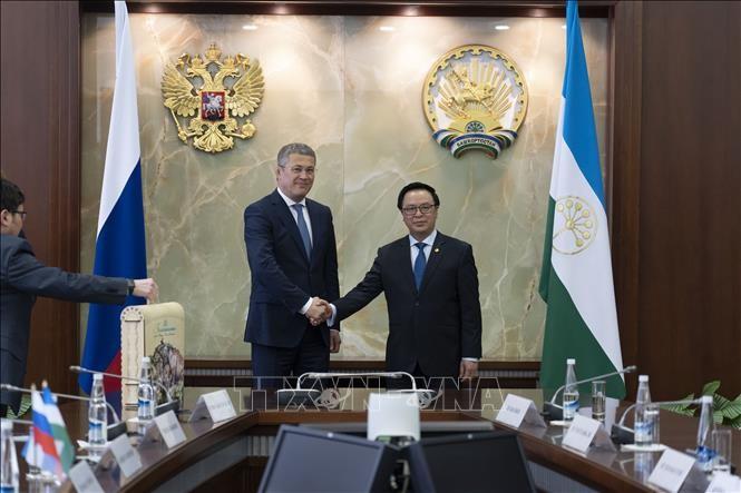 Cộng hòa Bashkortostan (LB Nga) cam kết tạo mọi điều kiện thuận lợi nhất cho các doanh nghiệp Việt Nam - ảnh 1