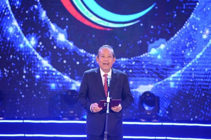 """""""Tiếng hát ASEAN+3"""" lần thứ 2 năm 2019 thành công tốt đẹp - ảnh 2"""