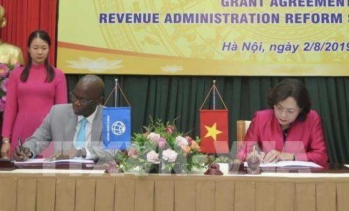 Ký kết Hiệp định tài trợ khoản viện trợ không hoàn lại 4,2 triệu USD hỗ trợ Việt Nam cải cách thuế - ảnh 1