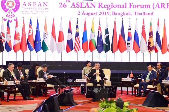 Tham dự ARF 26: Phó Thủ tướng, Bộ trưởng Ngoại giao Phạm Bình Minh đề nghị đề cao tôn trọng luật pháp quốc tế - ảnh 1