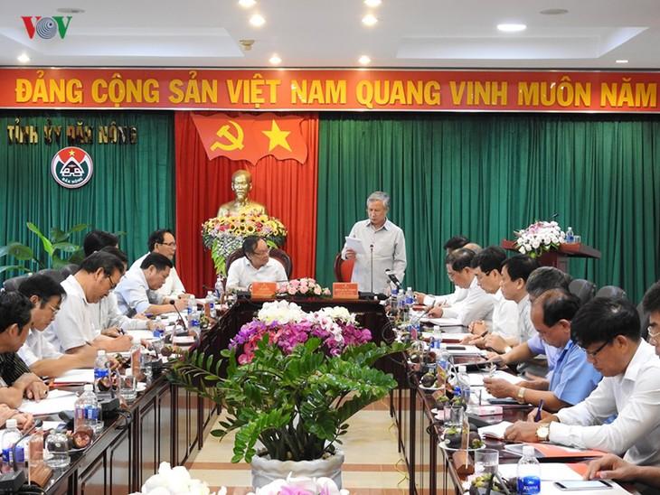 Thường trực Ban Bí Thư Trung ương Đảng Trần Quốc Vượng thăm và làm việc tại tỉnh Đắk Nông - ảnh 1