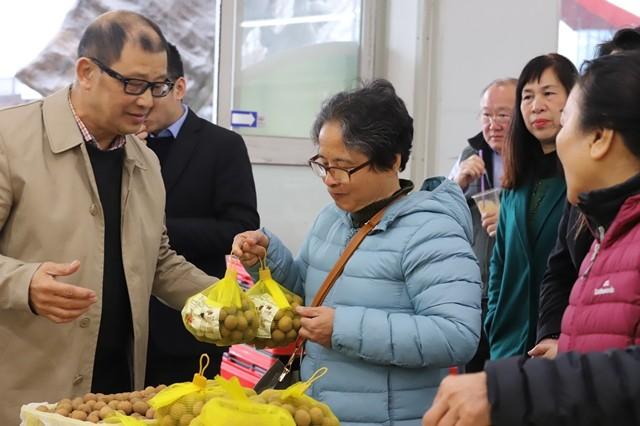 Chính thức giới thiệu nhãn tươi Việt Nam tại thị trường Australia - ảnh 1
