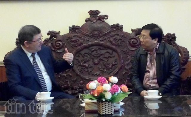 Вьетнам расширяет сотрудничество с Тамбовской областью - ảnh 1