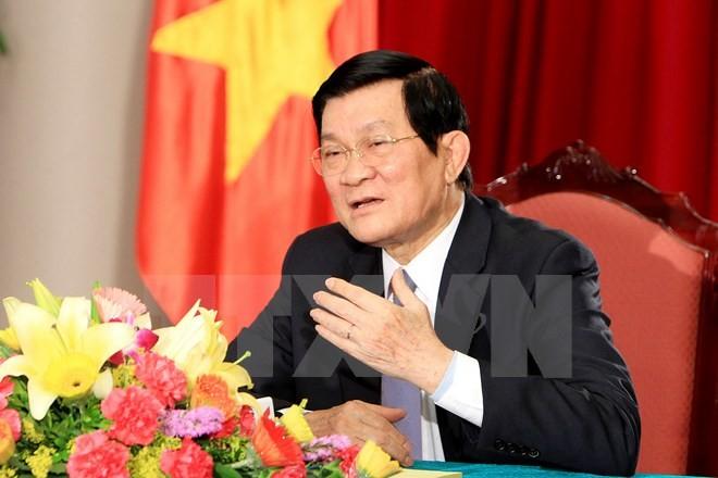 Президент СРВ Чыонг Тан Шанг совершит рабочую поездку в Индонезию - ảnh 1