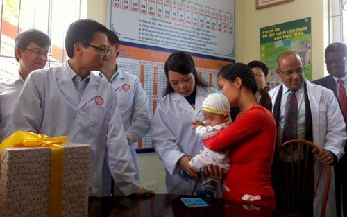Во Вьетнаме прошел митинг, посвящённый Неделе вакцинации - ảnh 1