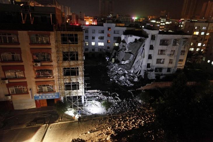 Ещё один взрыв произошёл на юге Китая - ảnh 1
