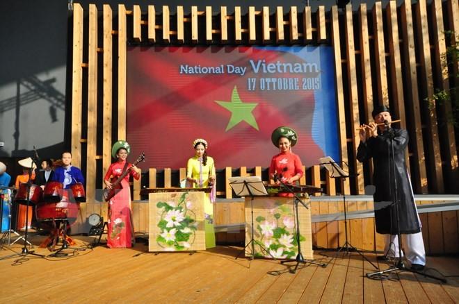 В Милане прошел День Вьетнама на «Экспо-2015» - ảnh 1
