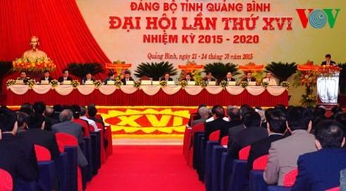 Открылись конференции парторганизаций разных провинций и городов Вьетнама - ảnh 1