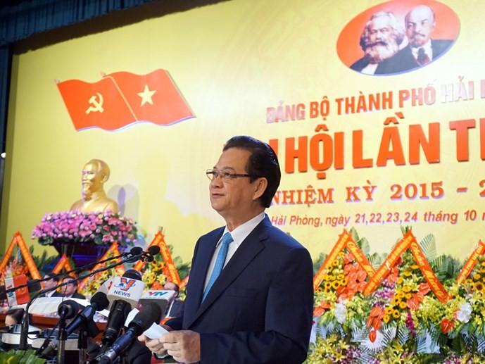 Руководители Вьетнама председательствовали на конференциях разных парторганизаций  - ảnh 1
