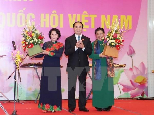 Представлен состав группы женщин-депутатов парламента Вьетнама 14-го созыва - ảnh 1