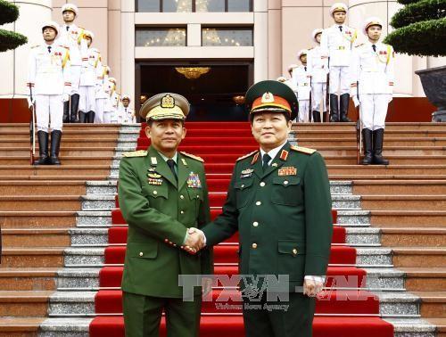 Вьетнам и Мьянма расширяют сотрудничество в области обороны - ảnh 1