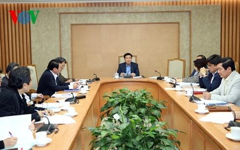 Выонг Динь Хюэ председательствовал на заседании по строительству новой деревни  - ảnh 1