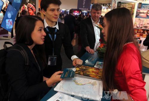 В рамках международной туристической ярмарки в Берлине прошла выставка карт Вьетнама - ảnh 1