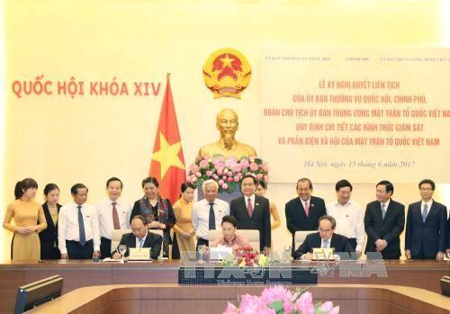 Подписано совместное постановление парламента, правительства и ОФВ - ảnh 1