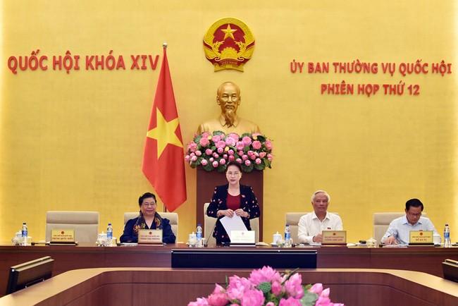 В Ханое открылось 12-е заседание Постоянного комитета Нацсобрания Вьетнама - ảnh 1