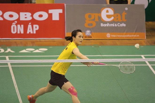 Вьетнамская бадминтонистка прошла в полуфинал турнира «Yonex Sunrise Vietnam Open 2017» - ảnh 1