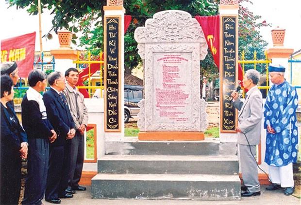 Крепость Тханьчьем и появление современной вьетнамской письменности - ảnh 1