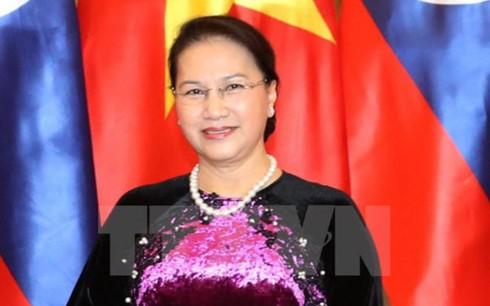 Председатель Нацсобрания Вьетнама начала официальный визит в Казахстан - ảnh 1