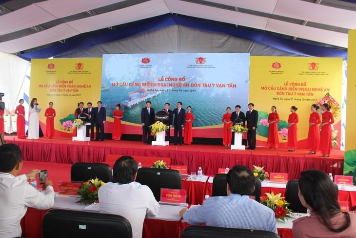 В провинции Нгеан введена в эксплуатацию пристань «Vissai» - ảnh 1