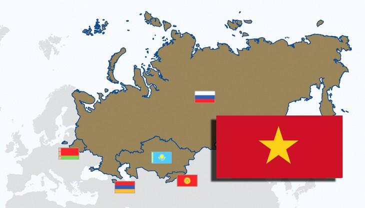 Краски русскоязычных стран во Вьетнаме: Евразийский экономический союз - ảnh 1