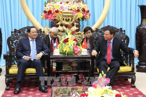 Вице-премьер Лаоса совершил рабочую поездку в провинцию Бенче - ảnh 1