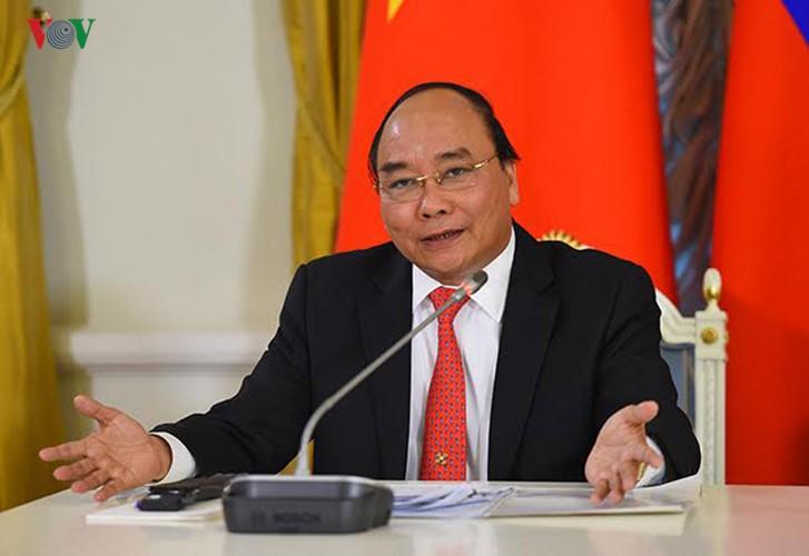 Нгуен Суан Фук призвал народ и армию противодействовать стихийным бедствиям - ảnh 1