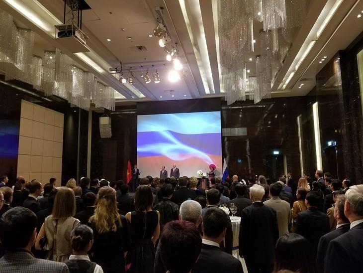 Посольство РФ в СРВ организовало торжественный приём - ảnh 1