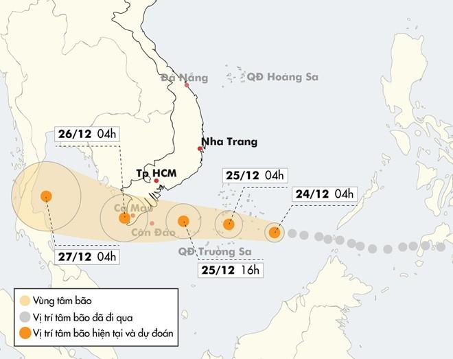 Вьетнам готовится встретить тайфун «Тембин» - ảnh 1