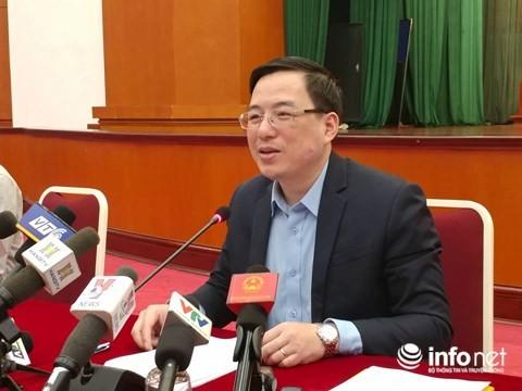 В Ханое прошла пресс-конференция об акционировании госпредприятий - ảnh 1