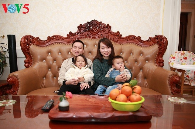 Вьетнамцы в Гуанси скучают по Новому году на Родине - ảnh 2
