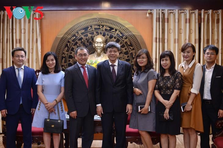 Вьетнам и Казахстан расширяют сотрудничество в области СМИ - ảnh 1