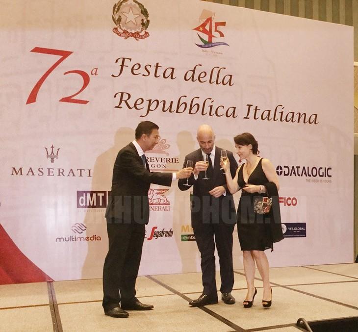 Празднование 45-летия со дня установления дипотношений между Вьетнамом и Италией - ảnh 1
