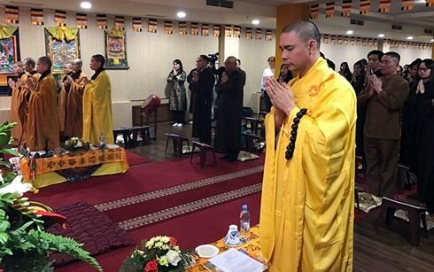 Вьетнамские буддисты в России отпраздновали «Весак - 2018» - ảnh 1