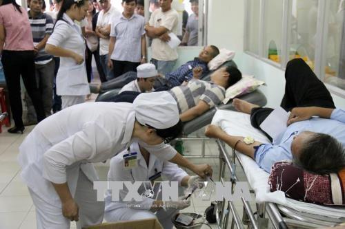 Во Вьетнаме проходят различные мероприятия в честь доноров крови - ảnh 1