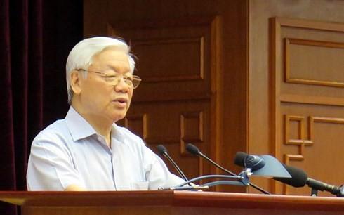 В Ханое прошла всереспубликанская конференция по профилактике и борьбе с коррупцией - ảnh 1