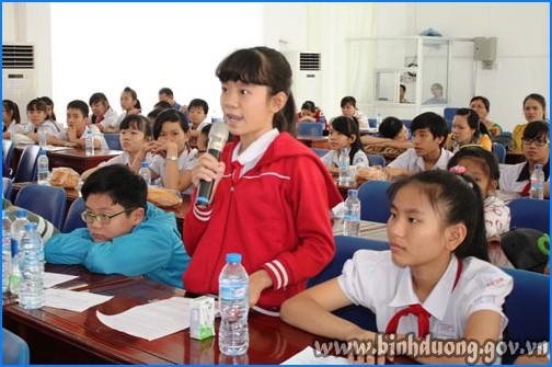 Повышение роли детей в решении вопросов, связанных с детьми - ảnh 1
