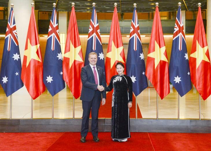 В Ханое прошли переговоры на высоком уровне между Вьетнамом и Австралией - ảnh 1