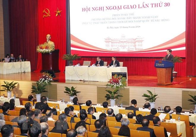 Дальнейшее развитие вьетнамской дипломатии - ảnh 1