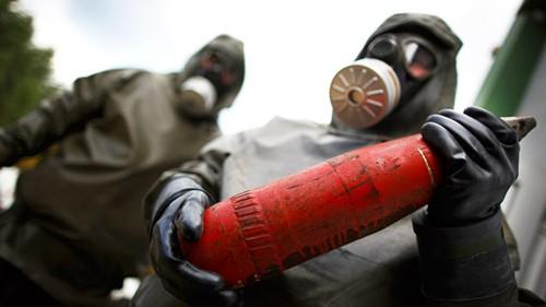 ซีเรียยื่นข้อเสนอใหม่เกี่ยวกับการทำลายคลังอาวุธเคมี - ảnh 1