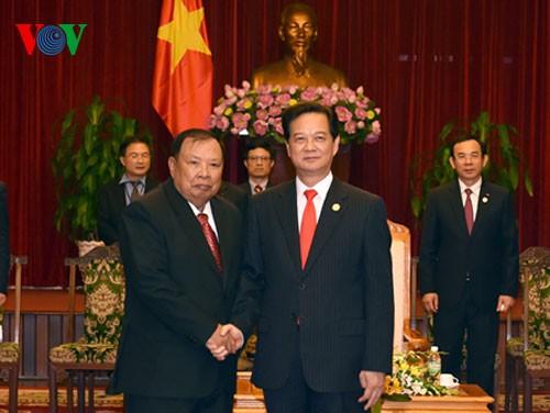 ความสัมพันธ์ร่วมมือระหว่างเวียดนามกับลาวนับวันได้รับการพัฒนาให้เข้าสู่ส่วนลึก - ảnh 1