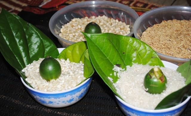 เทศกาลฉลองข้าวใหม่ของชนเผ่าราค์ลาย - ảnh 2