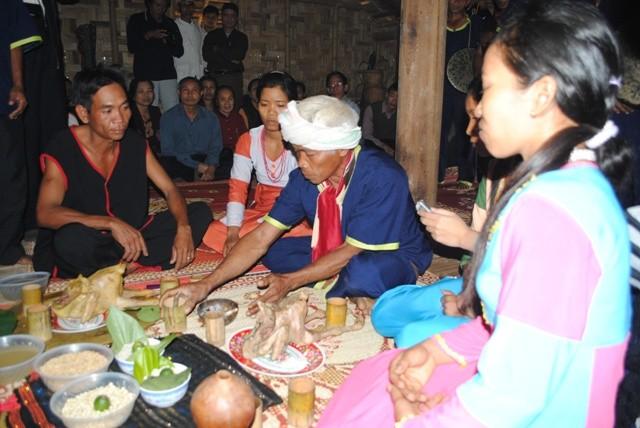 เทศกาลฉลองข้าวใหม่ของชนเผ่าราค์ลาย - ảnh 1
