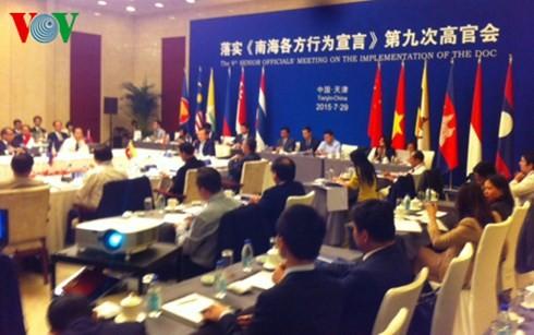การประชุมเจ้าหน้าที่อาวุโสอาเซียน-จีนครั้งที่๙เกี่ยวกับดีโอซี - ảnh 1
