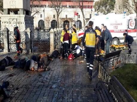 ประชาคมโลกประณามเหตุระเบิดพลีชีพในตุรกี - ảnh 1