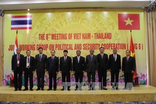 การประชุมกลุ่มปฏิบัติงานร่วมเวียดนาม-ไทยเกี่ยวกับความร่วมมือทางการเมืองและความมั่นคงครั้งที่๘   - ảnh 1
