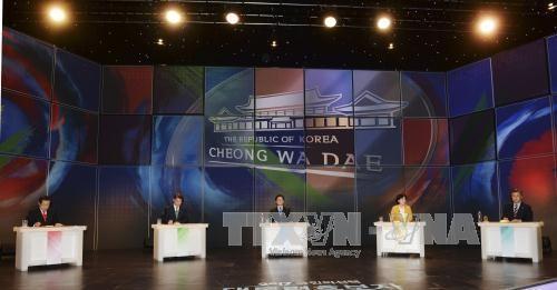 ผู้ลงสมัครรับเลือกตั้งประธานาธิบดีสาธารณรัฐเกาหลีเริ่มการรณรงค์หาเสียงเลือกตั้ง - ảnh 1